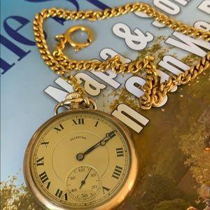 Illinois vintage pocket watch